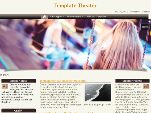 Template Theater